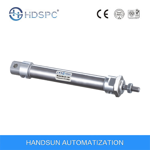 Stainless Steel Mini Pneumatic Cylinder (MA Series)