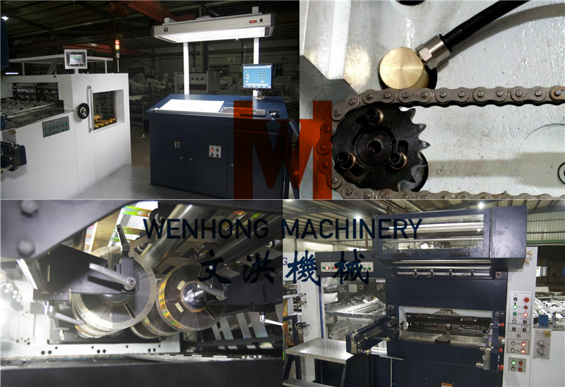 China Fully Automatic Hot Foil Stamping Machine for Sale (105SF)