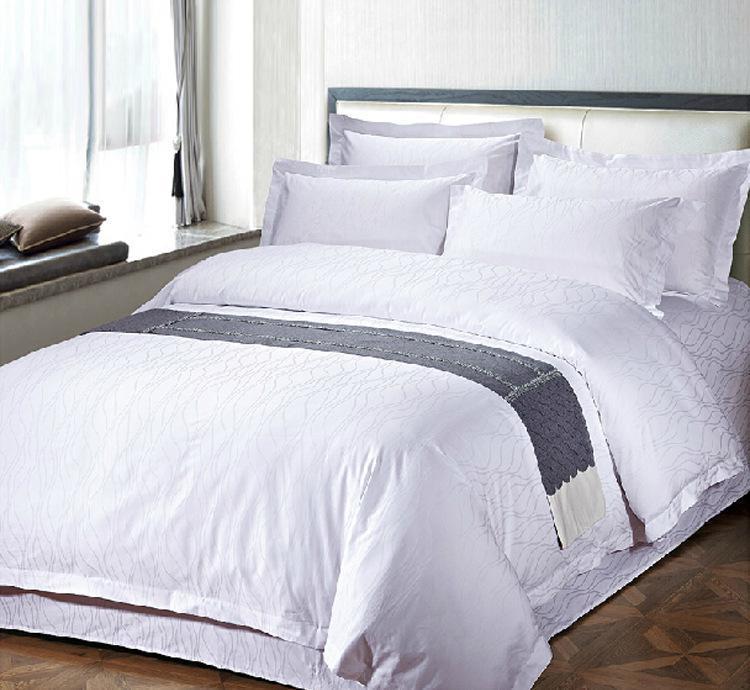 100% Cotton/ T/C 50/50 Jacquard Fabric Hotel/Home Textile (WS-2016342)