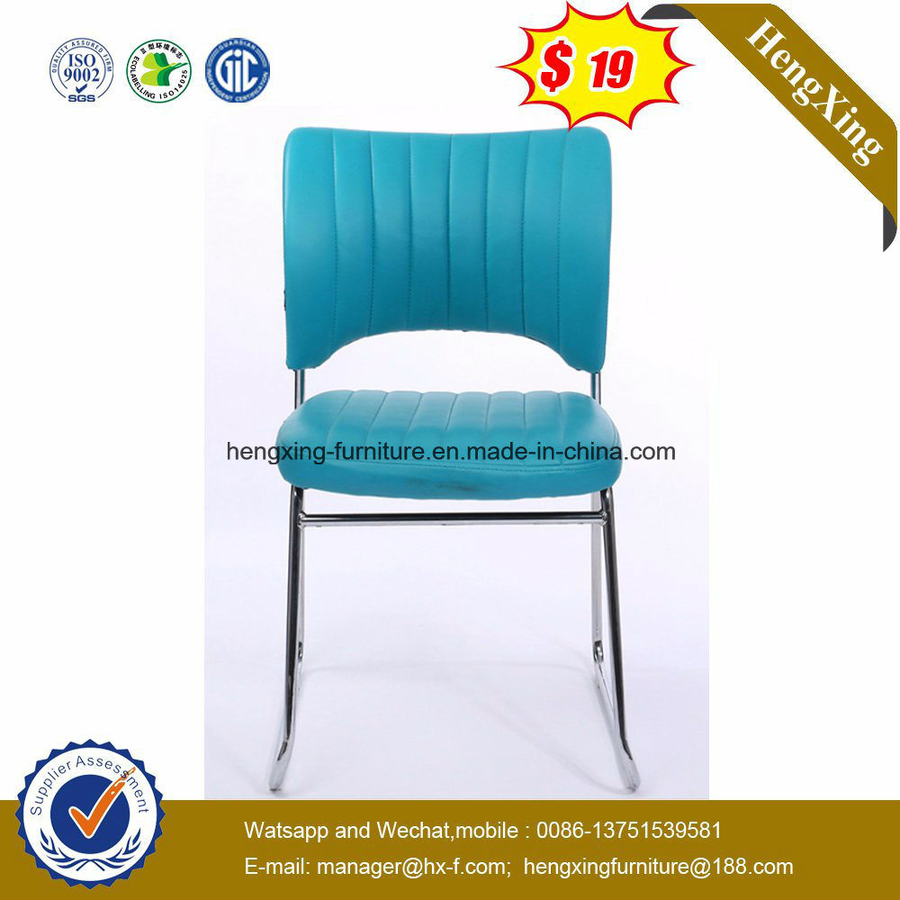 Elegant Useful PU Leather Folding Plastic Chair (HX-PL032)