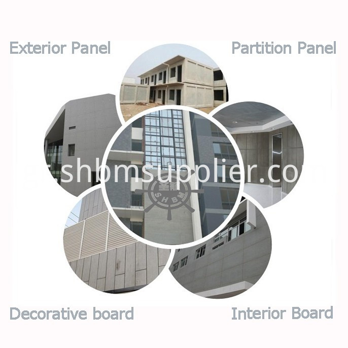 Partition Wall Fiber cement boards