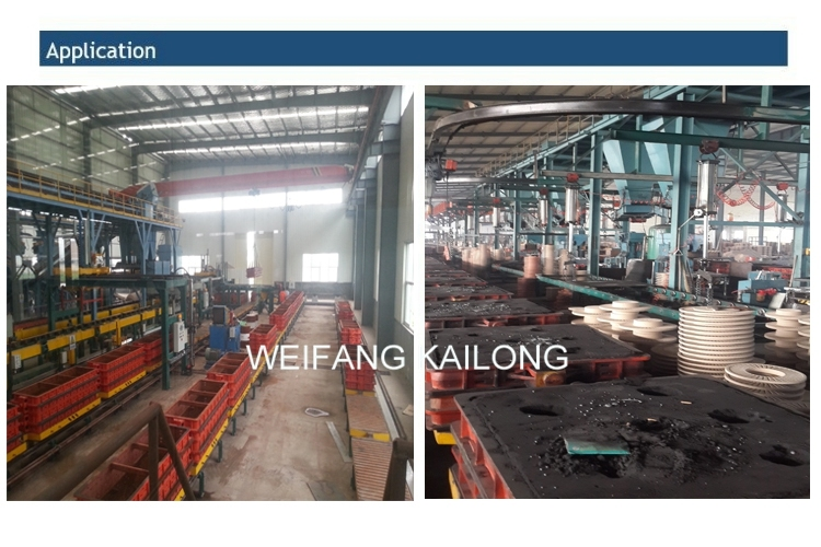 Moulding Flask Molding Line Use Mould Box for Foundry