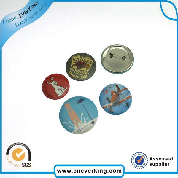 Custom Logo Printed Rubber Lapel Pin Badge with Pin
