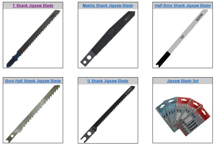 Hcs T101ao T-Shank Jigsaw Blade Set, Wood and Metal, 5-Pack