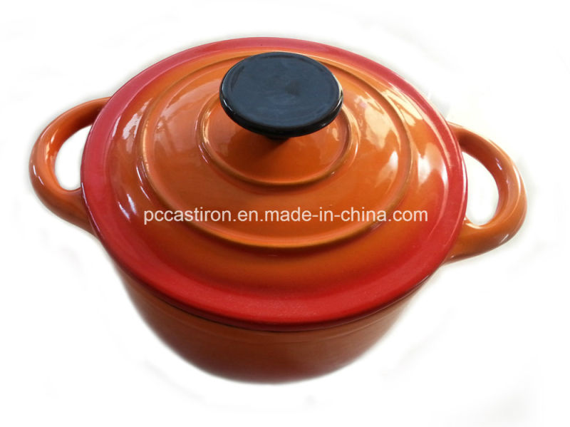 2qt Enamel Cast Iron Cocotte Cookware LFGB Approved Factory China