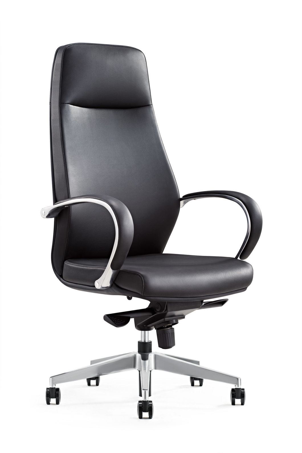 Modern Black High Back Executive Swivel Leisure Boss PU Chair