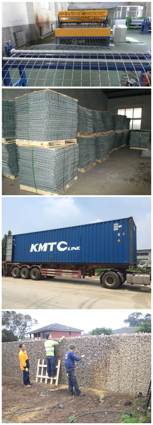 China Galvanized Welded Steel Cage Wall