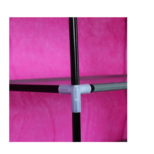 Non-Woven fabric Folding Tall Shoe Racks with Steel Tube