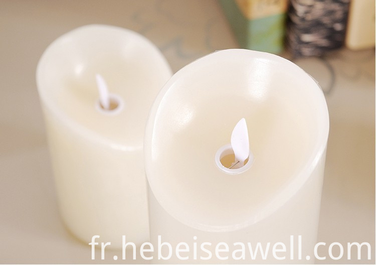 Real Wax Led Candle