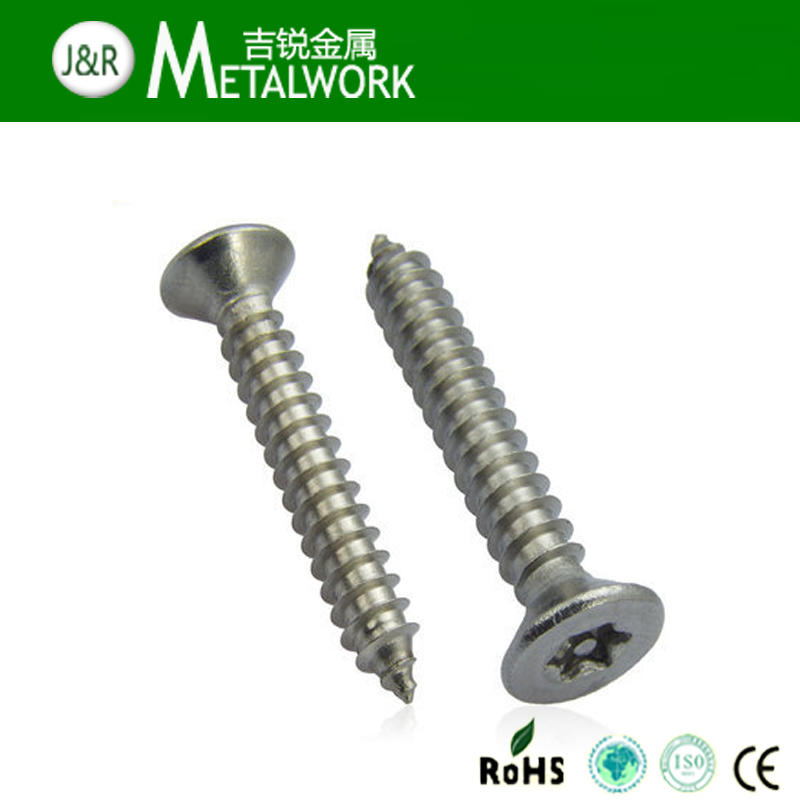 Stainless Steel Torx Pan / Button / Countersunk Head Anti Theft Bolt with Pin