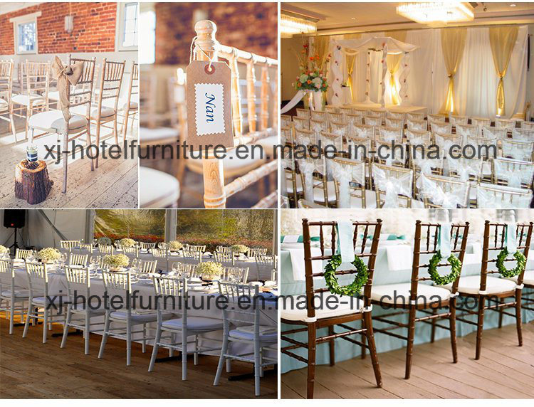 Dining Room Furniture Steel/Aluminum Chiavari Chair for Banquet/Hotel/Wedding