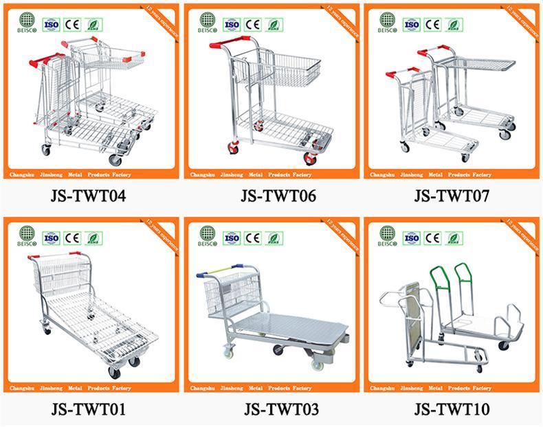 Wholesale Platform Hand Truck with Best Price (JS-TWT06)