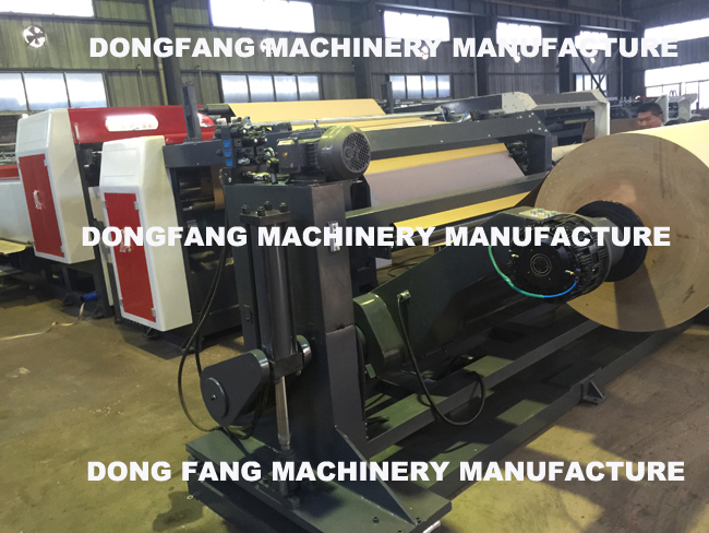 Paper Sheeting and Die-Cutting Machine for Vegetable Paper Sheet Cover