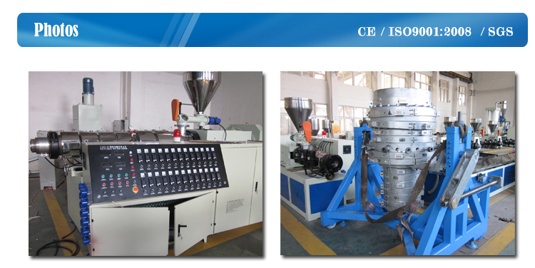 Full Automatic Complete PVC Pipe Making Machine
