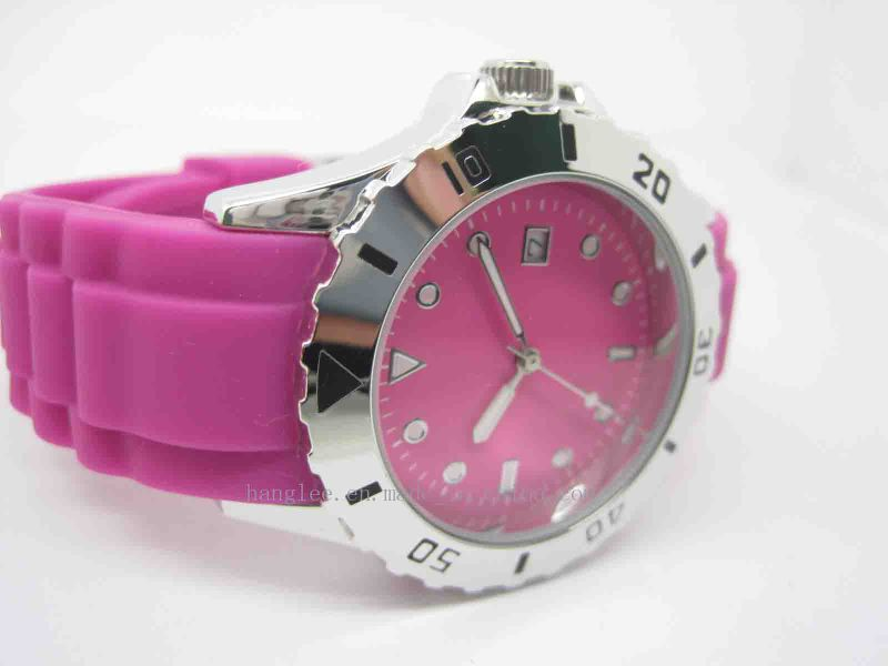 Colorful Silicone Watch, Gift Watch (JA-15014)