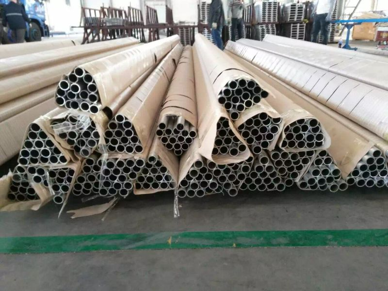 Mill Finished Aluminum Tube for Agricultural Irrigation System of Greenhouse Vegetables and Farmland