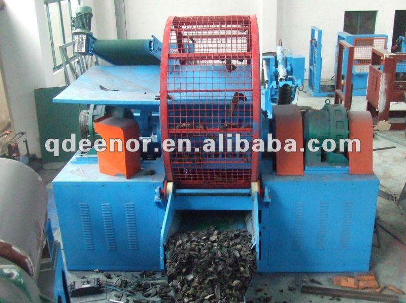Waste Tire Recycling Line / Rubber Powder Making Machine / Crumb Rubber Powder Machine