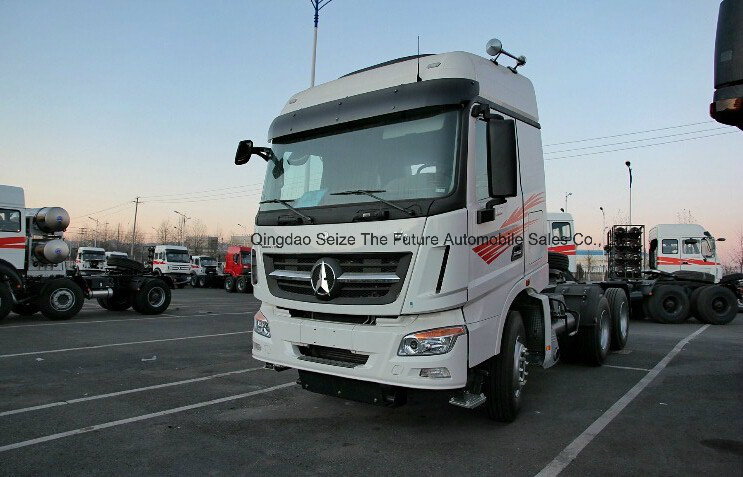 New Beiben V3 6X4 10 Wheel Tractor Head Trucks for Sale