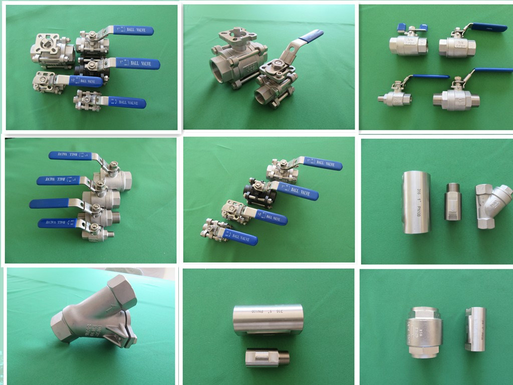 Stainless Steel Water Control Ball Valve