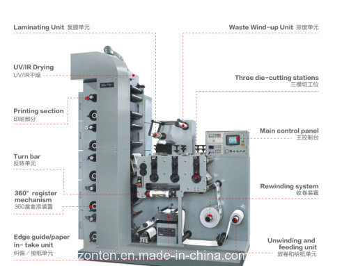 Label Flexo Printing Machine (LRY-330/450)