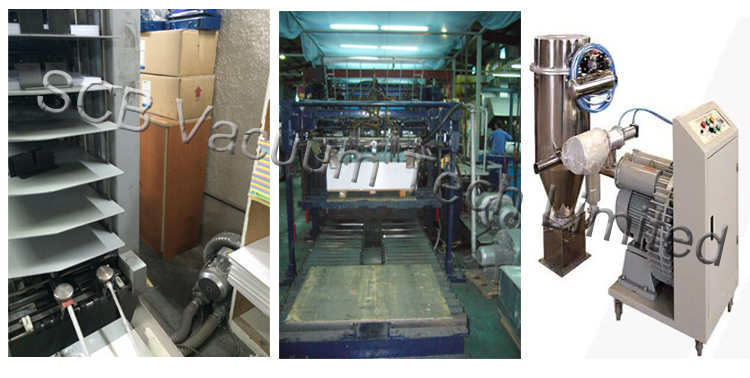 High Speed Vacuum Air Pump in Pneumatic Conveying System