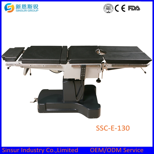 China Supply ISO/Ce Electric Fluoroscopic Operating Table