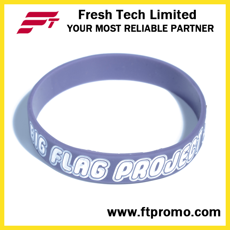 OEM High Quality Promotion Gift Silicone Wristband