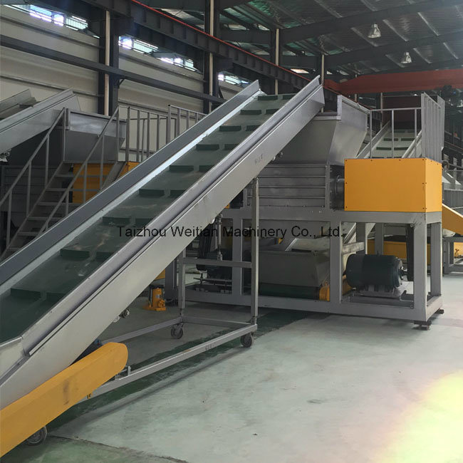 Double Shaft Shredder Machine for Scrap Metal/Tire/Plastic/Woodplastic/Wood / Tire/Used Tyre/Solid Waste/Medical