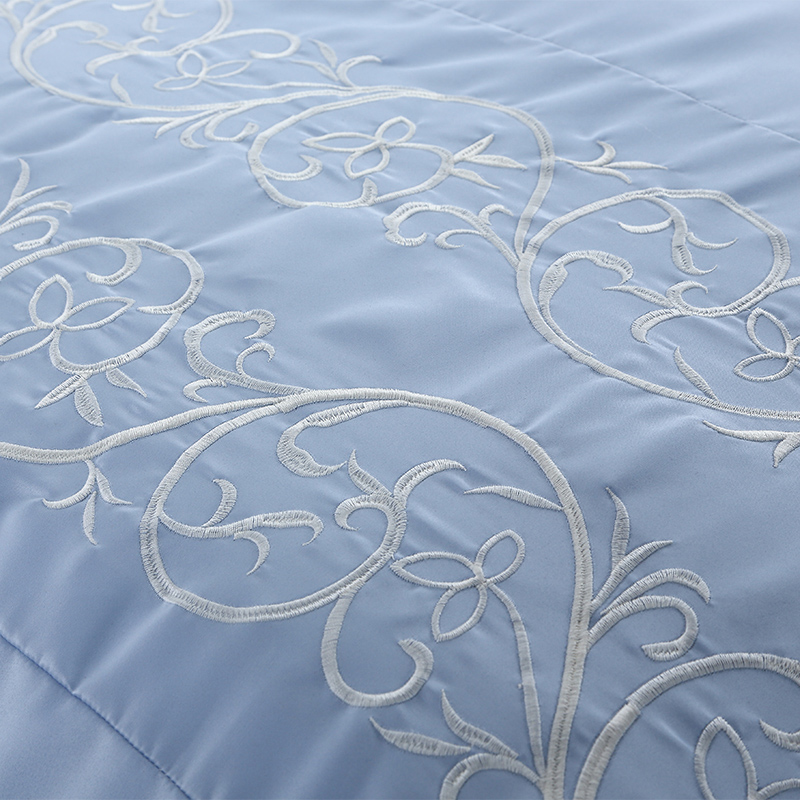 Luxury 100% Cotton Embroidered Home Textile