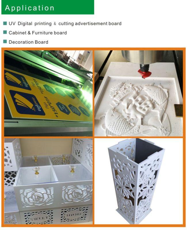 Wood PVC Foam Sheet Producing Factory (Density: 0.4-0.8g/cm3)