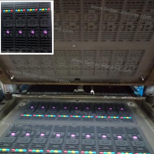 Custom Remote Control Silicone Rubber Buttons