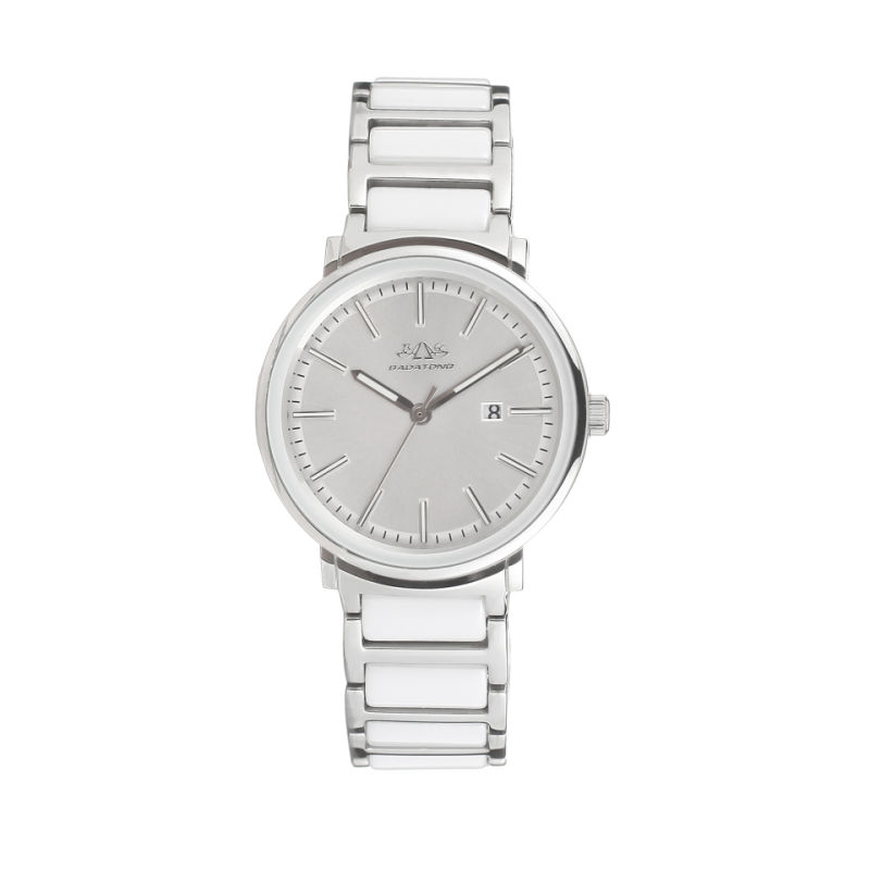 2017 Badatong Hot Selling Quartz Stainless Steel and Ceramic Watch Lady OEM