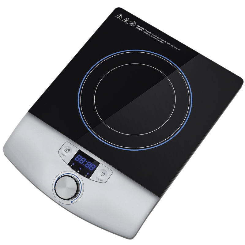 2016 Kitchen Apppliance Hot Sale Black Crystal Glass Electrical Induction Cooktop