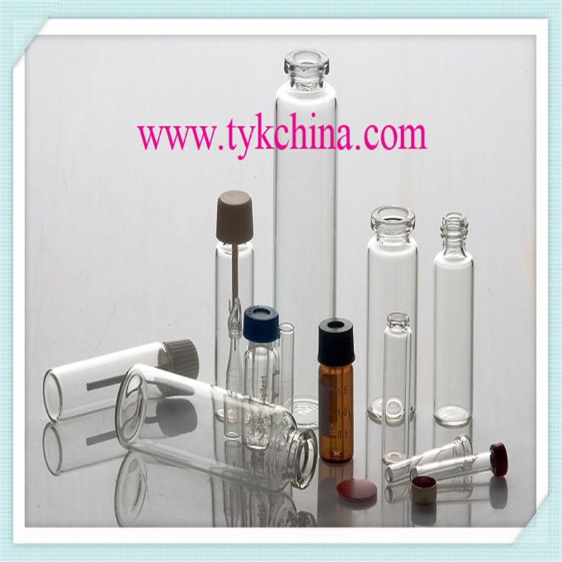 Clear and Amber Injection Glass Vial Bottle by Neutral Glass Tube