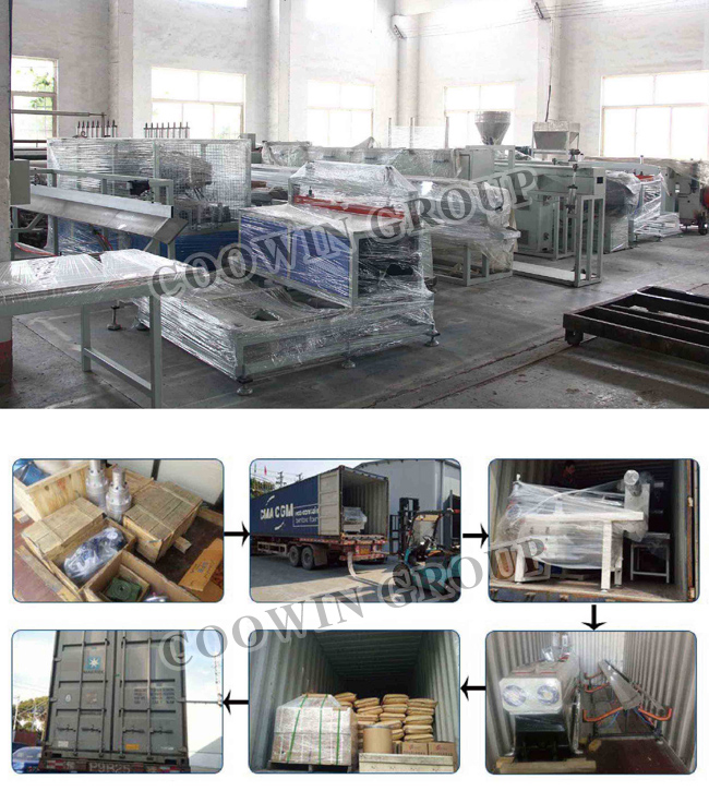 PVC WPC/Wood Plastic Composite Board Profile Extrusion/Production Line