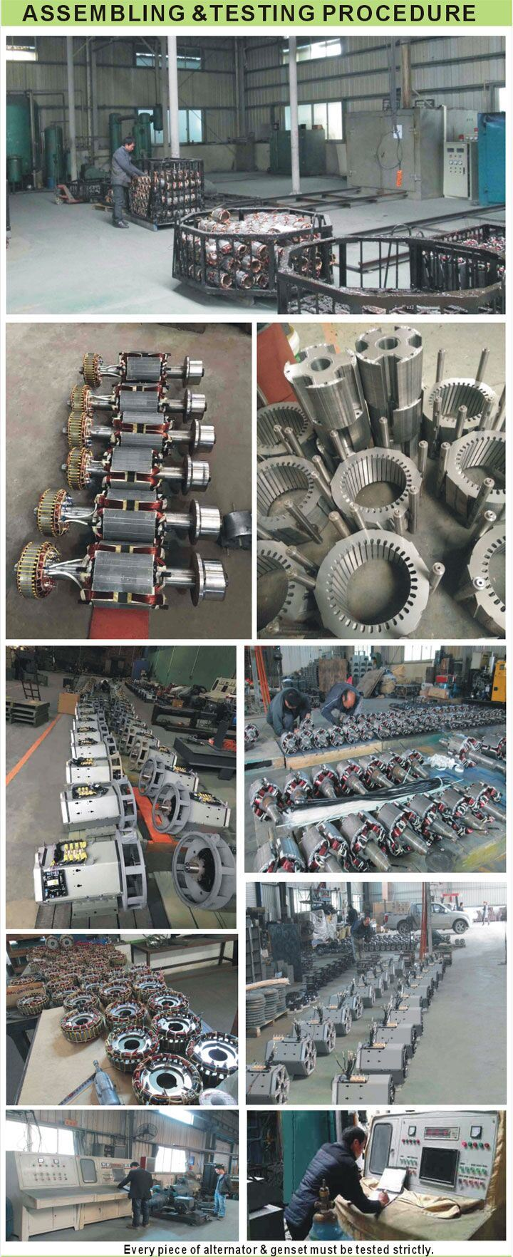 68 Kw Single Phase Hot Sale Dynamo a. C. Sychronous Brushless Alternator Copy Stamford