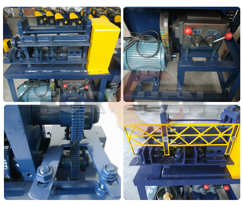 Electric Copper Cable Recycle Stripping Wire Stripper Machine
