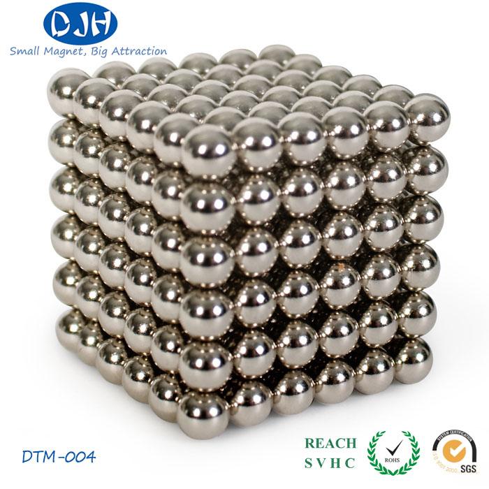 Ball Shaped NdFeB Neodymium Magnetic Toy (DTM-004)