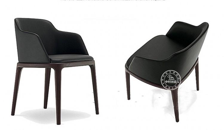 Nordic Ash Wood Dining Chair Ikea