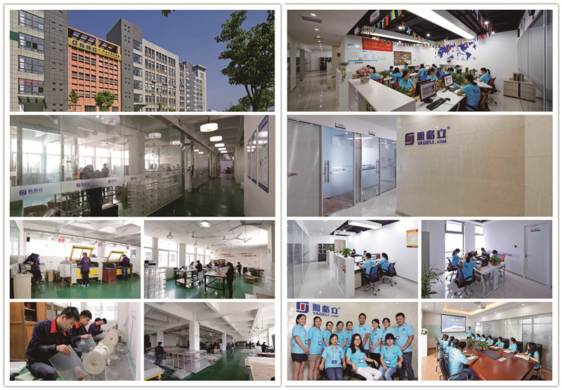 China Manufacture Customized Acrylic Lipstick Tower Spinning