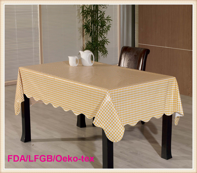 PVC Table Clothes /Plastic Table Cover