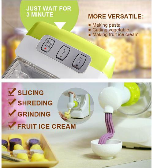 Easy Operation Home Use Italian Pasta Maker, Pasta Machine