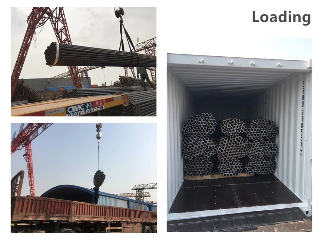 API 5L X70 LSAW Pipe 3PE Carbon Black Thin Wall Steel Pipe/Tubes