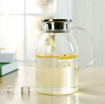 Northern Europe Style Borosilicate Glass Water Jug