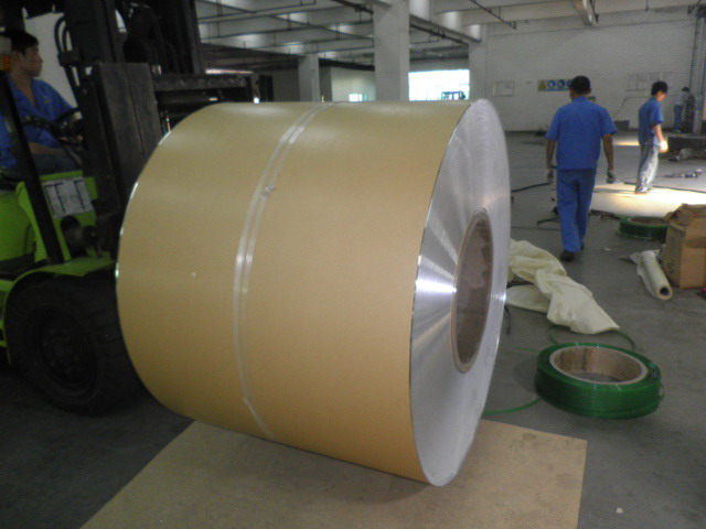 Aluminium Jacketing Coil with Polykraft/Polysurlyn for Thermal Insulation