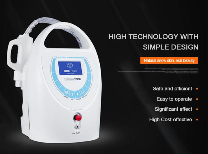 White ND YAG Q Switch Laser Honkon Tattoo Removal Machine