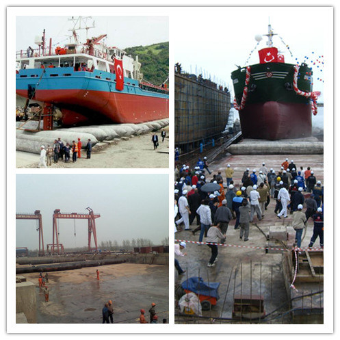 Launching and Docking Ship Airbags Lift Ship Airbags