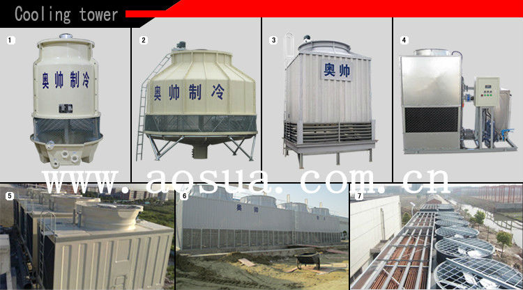 20T Low Price Copper Tube Stainless Steel Cooling Tower,Closed