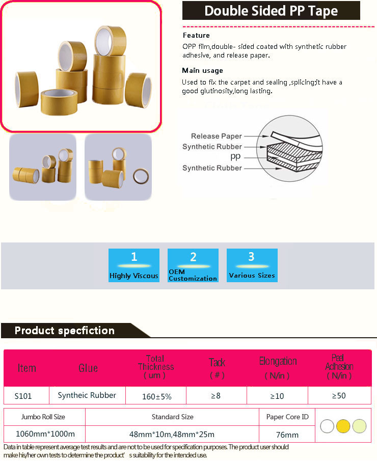 Protection Tape for Carpet Surface