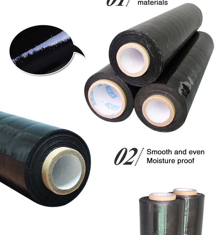 Black Light Plastic Film